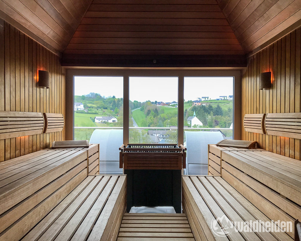Sauerland Seelenorte Ausblick Sauna