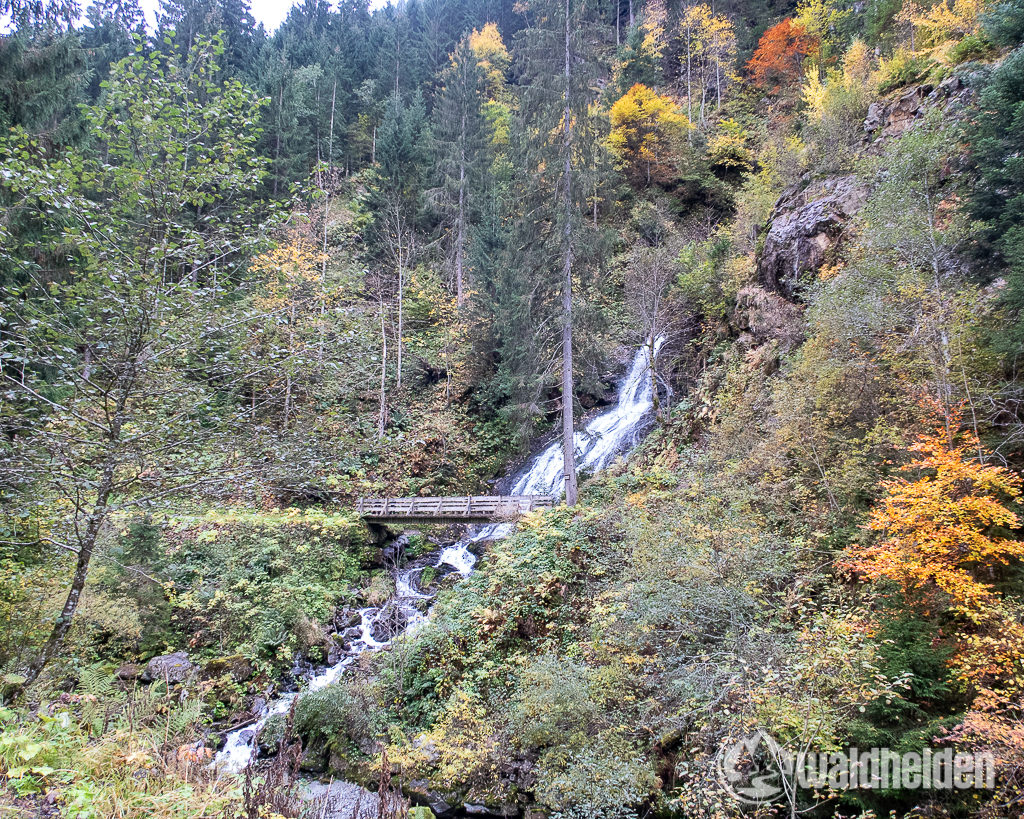 Gritschbach Wasserfall Silbertal Montafon