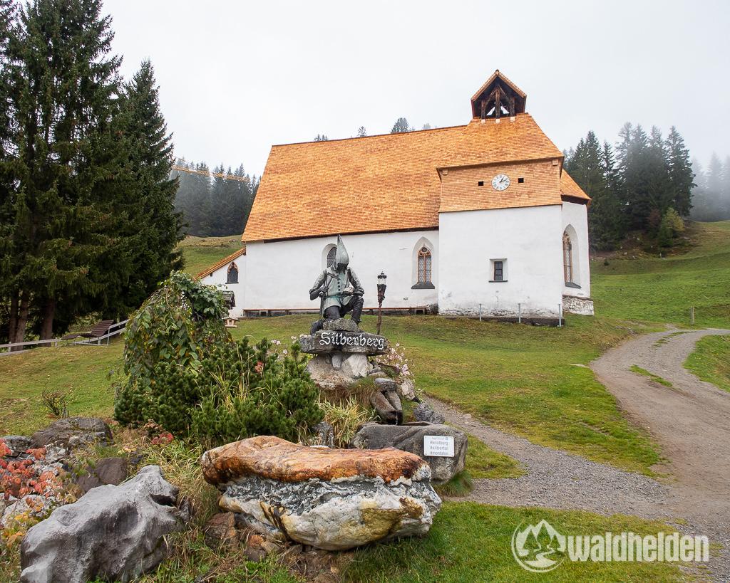 St. Agatha Kapelle Kristberg Montafon