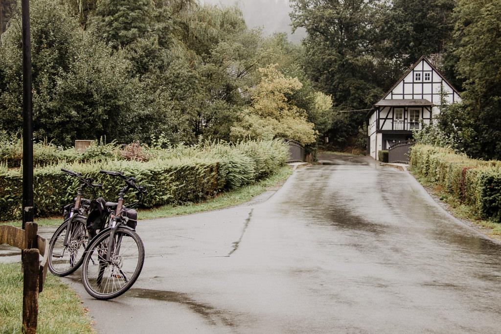 SauerlandRadring Radfahren im Regen