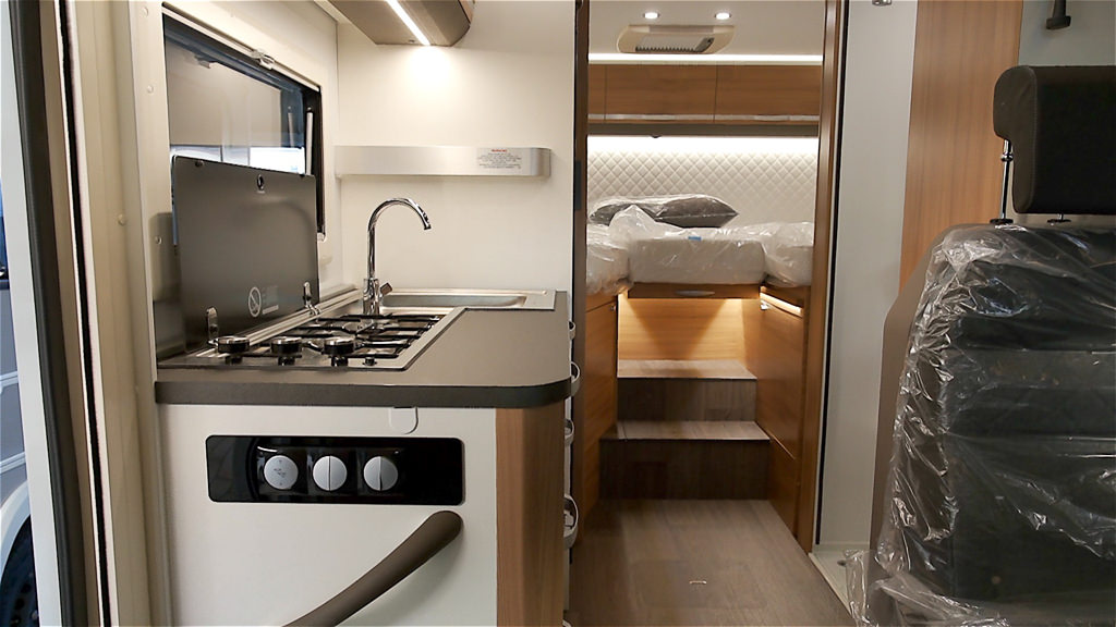 Kastenwagen oder Wohnmobil Innenraum