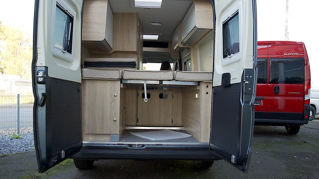 Kastenwagen oder Wohnmobil Türen