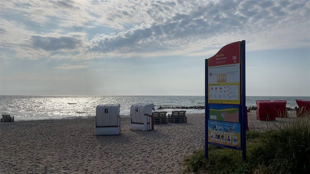 Strand vom Ostseebad Schönhagen