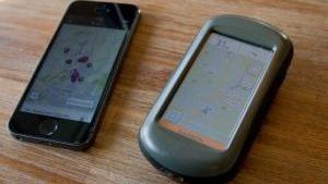 Fahrrad Navi oder Smartphone